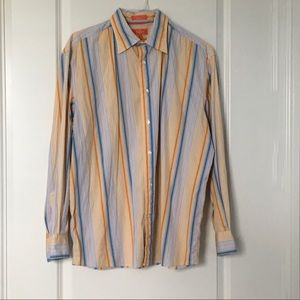 Faconnable Jeans Men's Large Shirt Long Sleeves